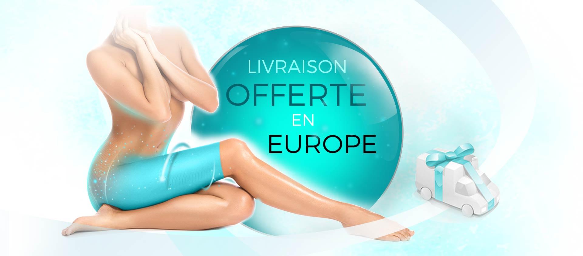 Livraison offerte en Europe